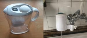 brita gegen tapp wasserfilter