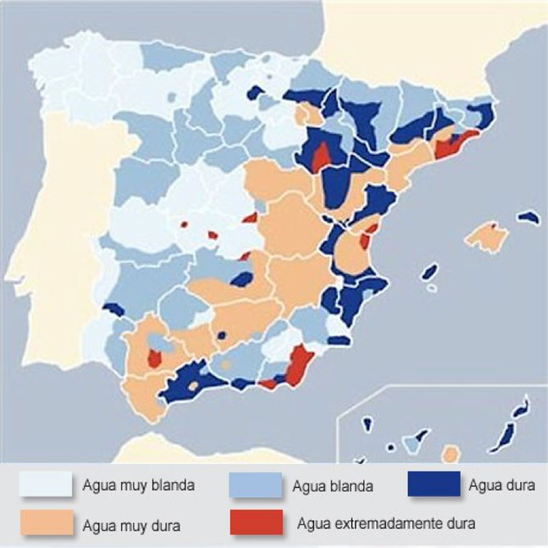 Water quality reports from Spain