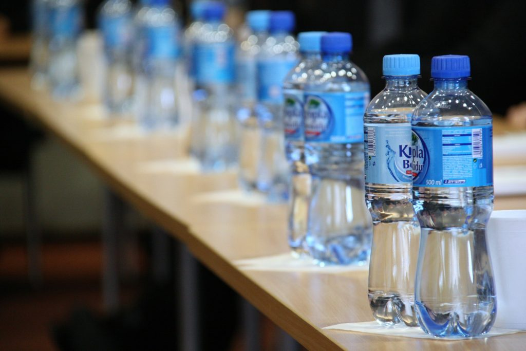 How does mineral water compare to tap water?