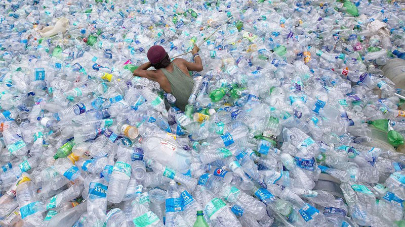 How many people consume bottled water globally?
