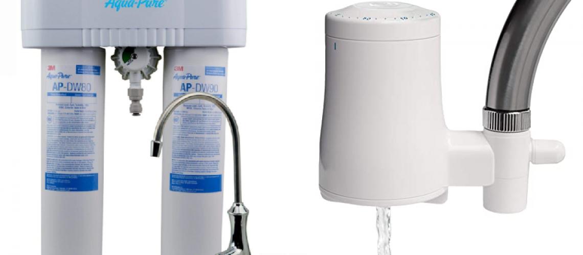 3M AquaPure water filter vs TAPP Water