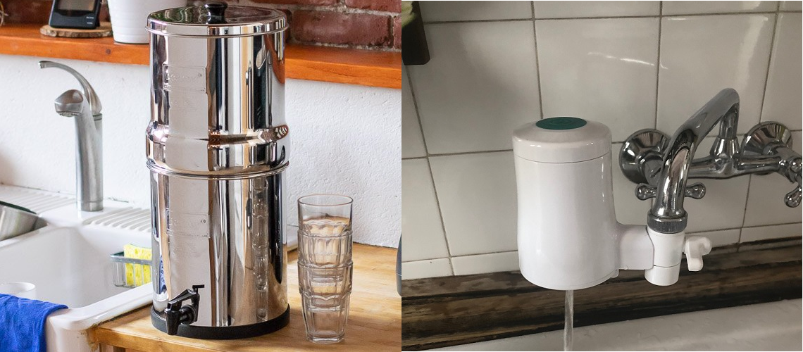 Berkey vs TAPP water filter comparison