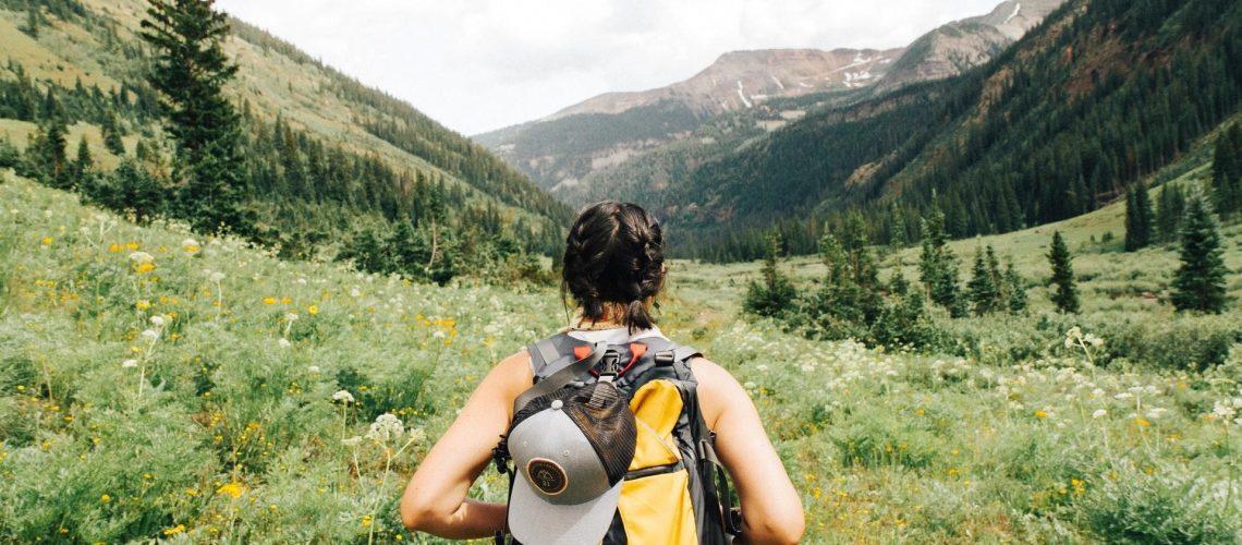 zero waste hiking water