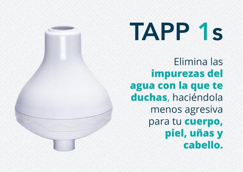 TAPP 1s – Filtro para la ducha
