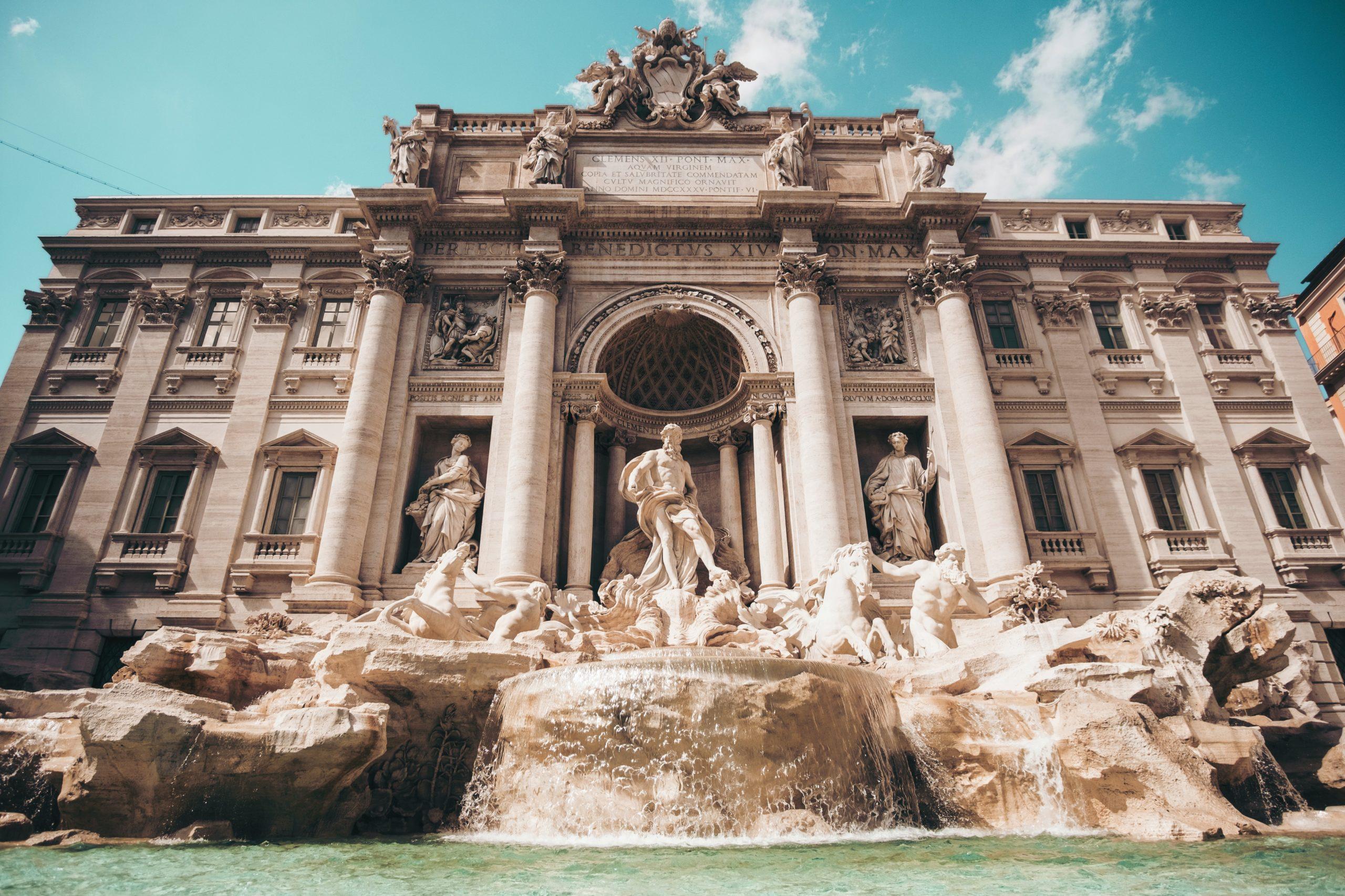agua del grifo en Roma