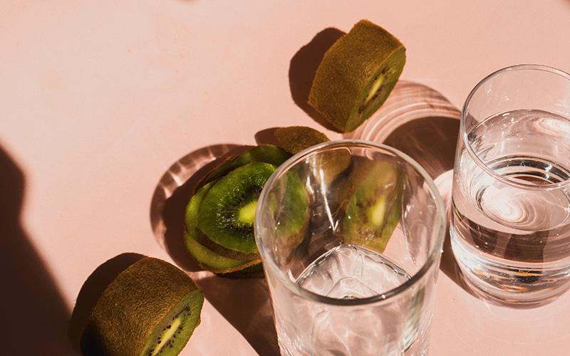 agua de kiwi