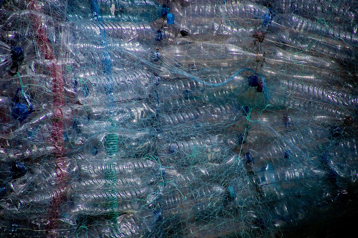 botellas de plástico evitadas