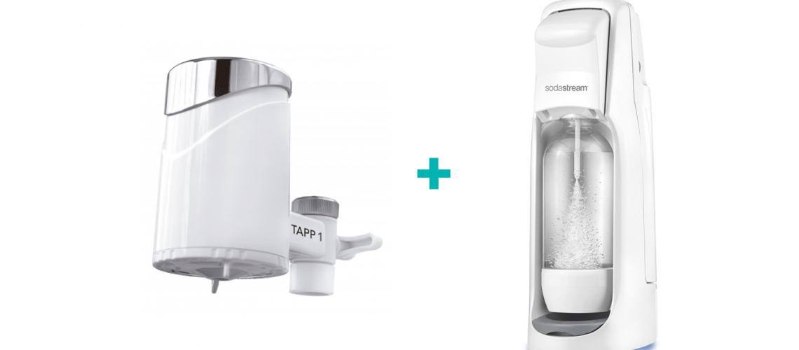 Filtro de agua + Sodastream = saludable, menos plástico, ahorra dinero y aumenta tu felicidad