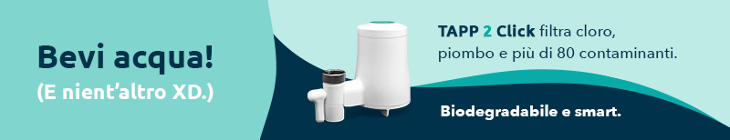 TAPP 2 Click filtri rubinetto