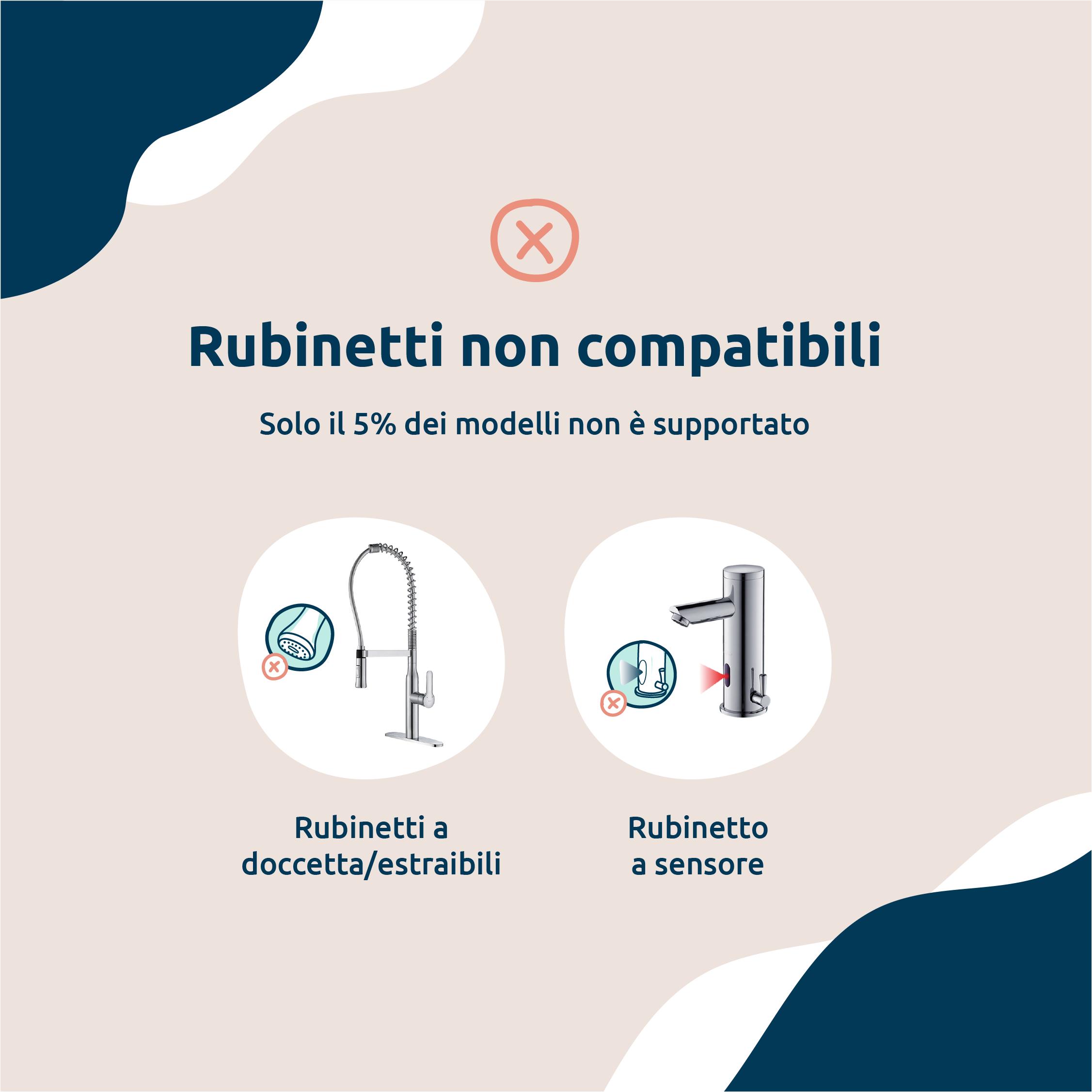 Non-compatible-taps-IT