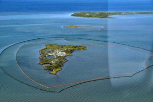 New Harbor Island La during the Deepwater Horizon oil spill