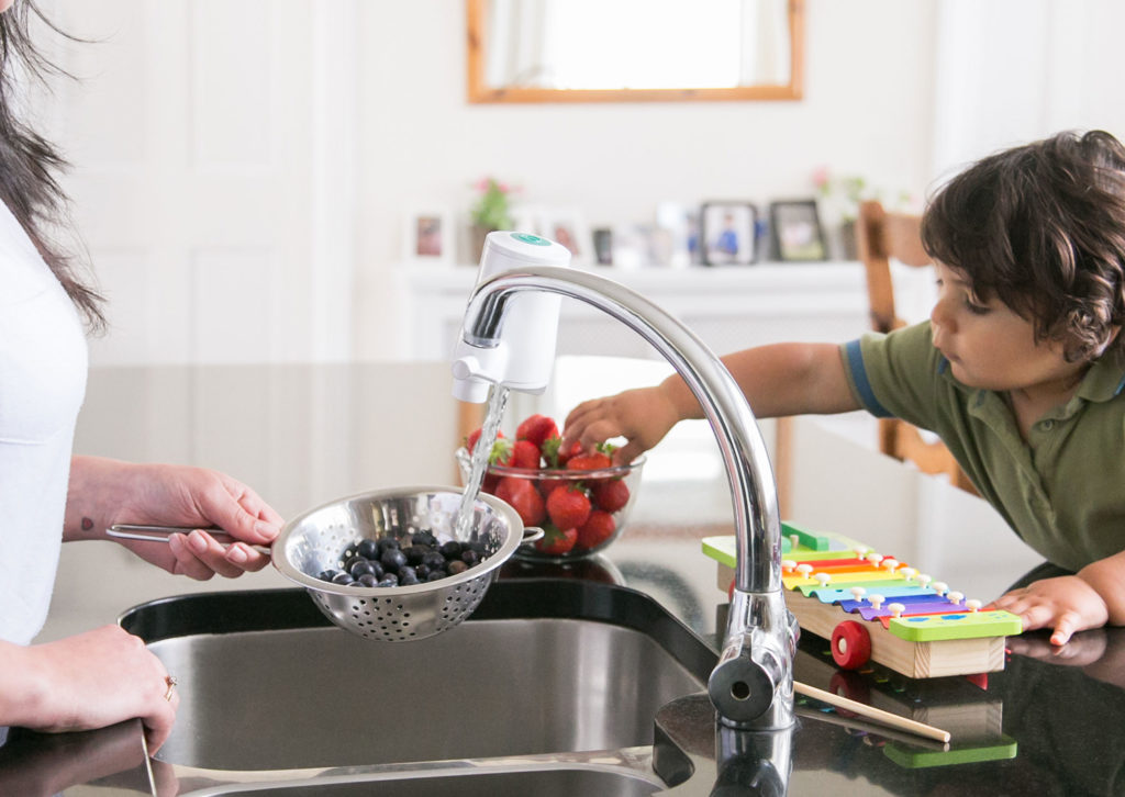 Is filtered tap water safe for babies?