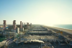 desalination plant and water filter in dubai